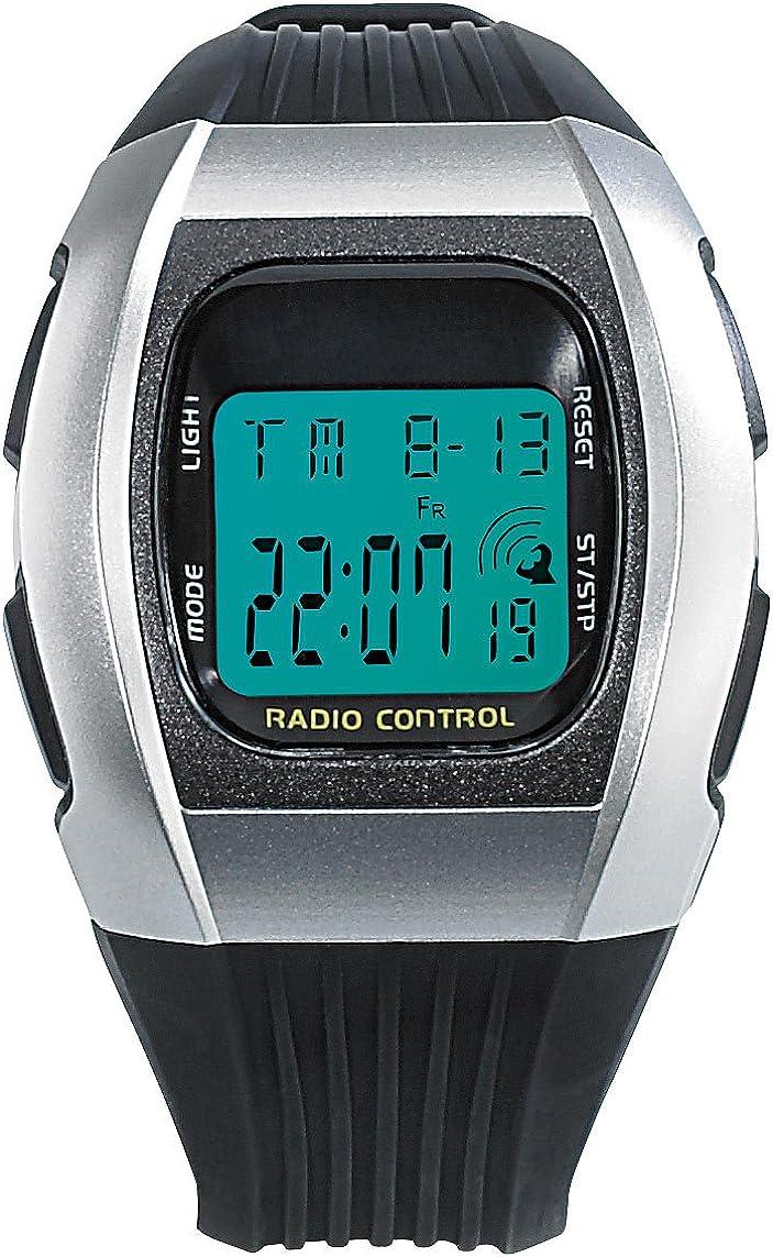 PEARL Reloj Unisex de Digital con Correa en Policarbonato NC-7065-944