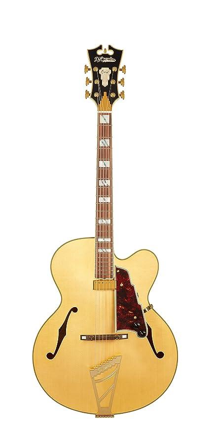 DANGELICO DAEEXL1NATGTE Excel EXL-1 - Guitarra eléctrica de cuerpo hueco, color