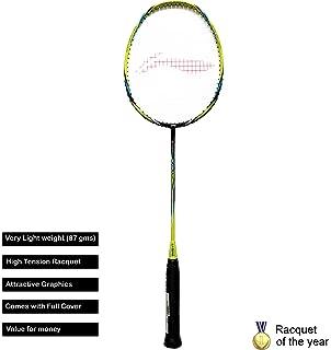 Li Ning Turbo X II Series Carbon Graphite Lightweight Strung Badminton Racquet S2