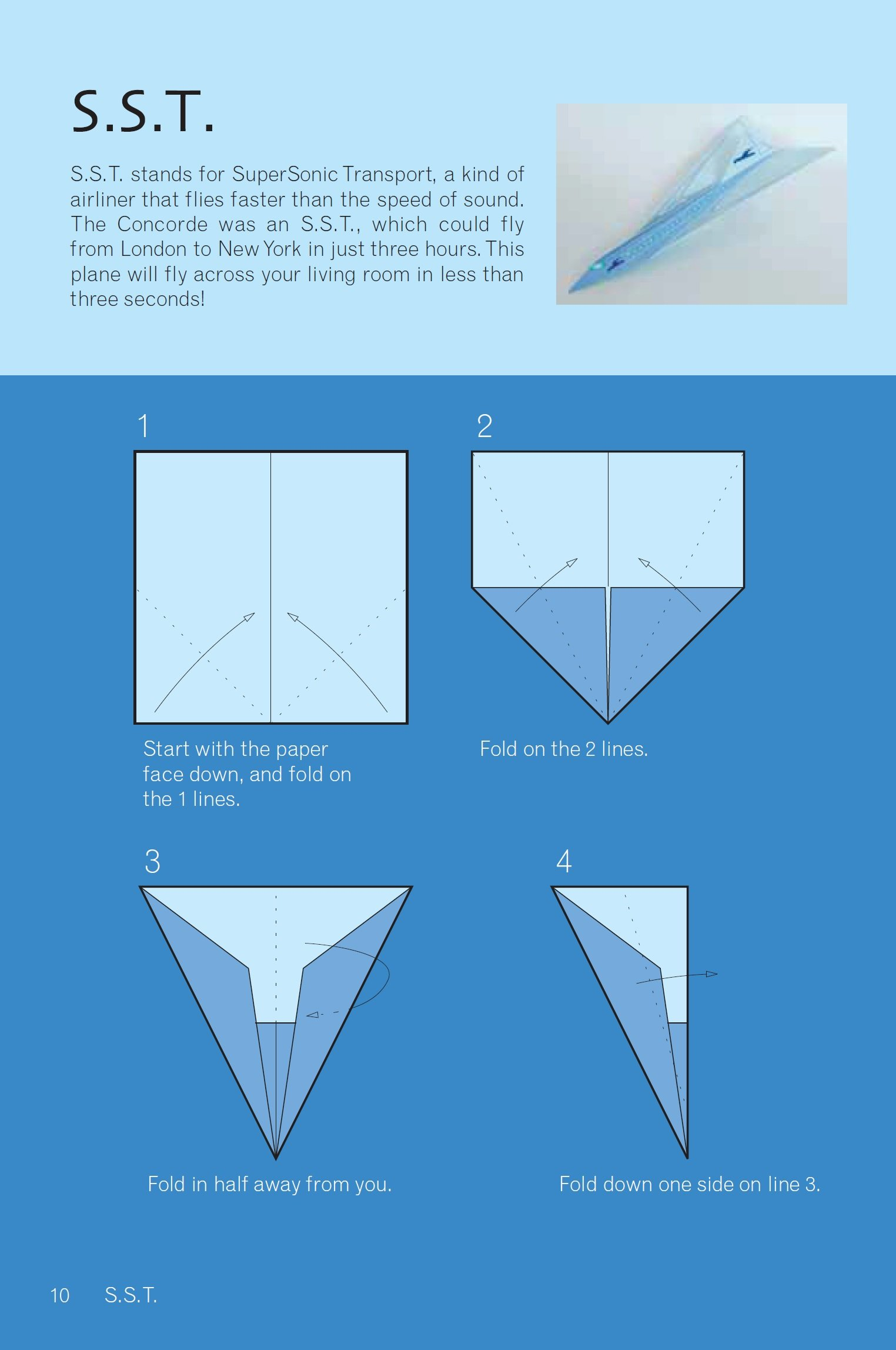 How to make a cool paper plane origami: instruction| F106 ... | 2295x1524