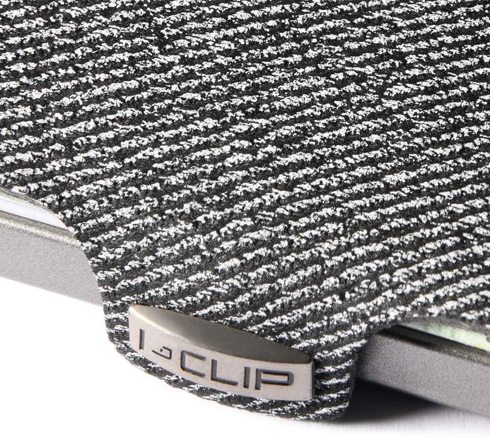 Disponible En 2 Variantes I-CLIP /® Portefeuille Jeans-Look Bleu