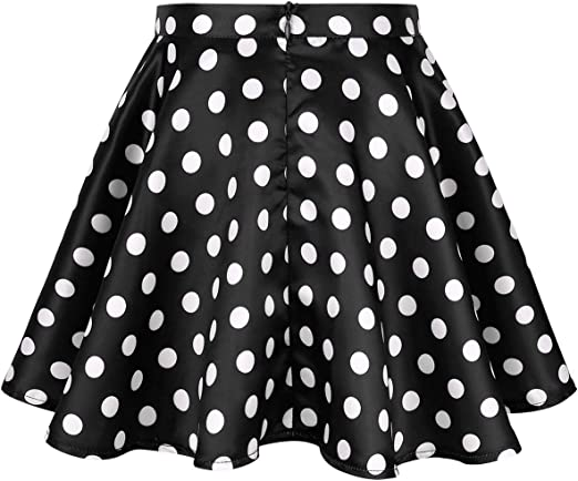 Vintage 1950/'s Geometric Print Novelty Circle Skirt \u2022 50/'s Novelty Print Swing Dance Skirt \u2022 Size S