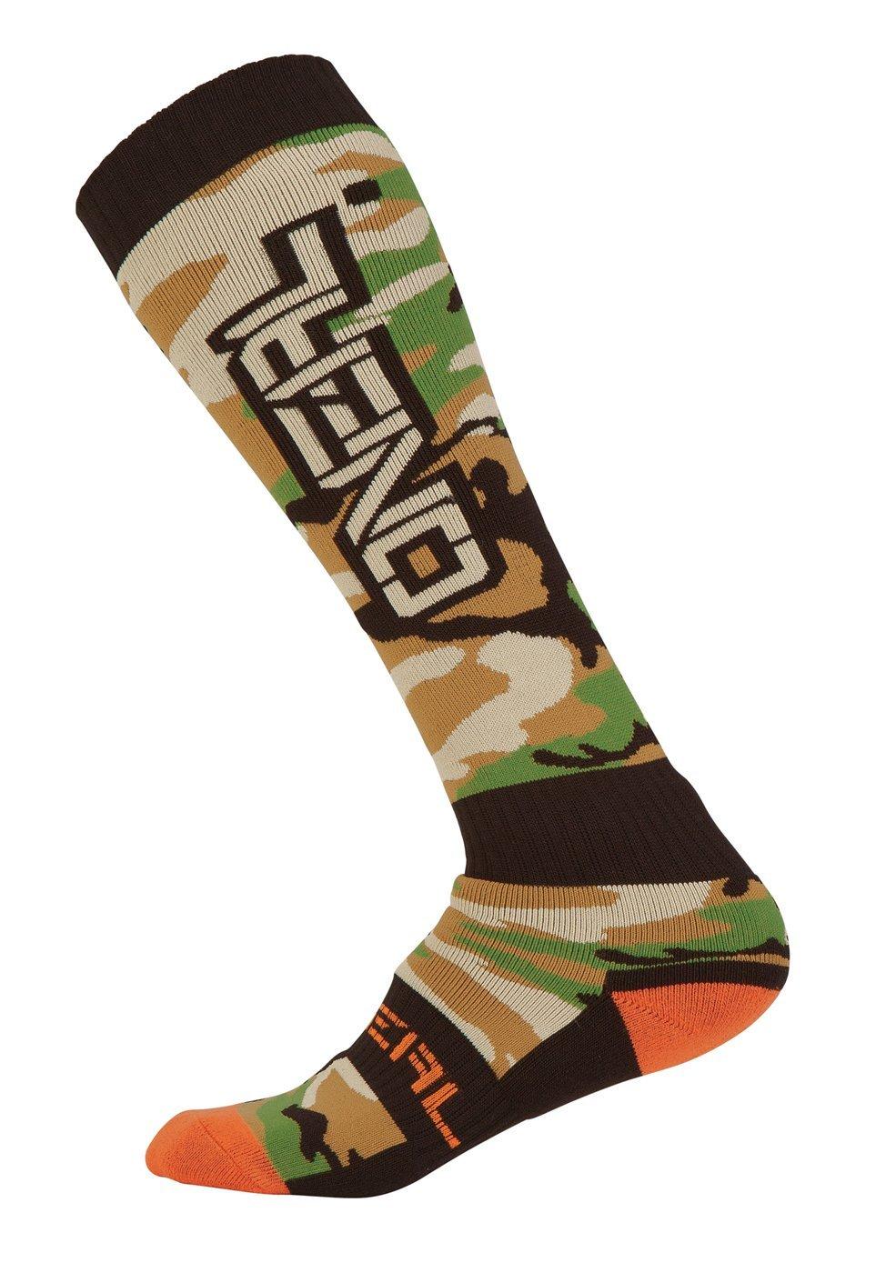 O`Neal Pro MX Sock Woods Camo Black/Green