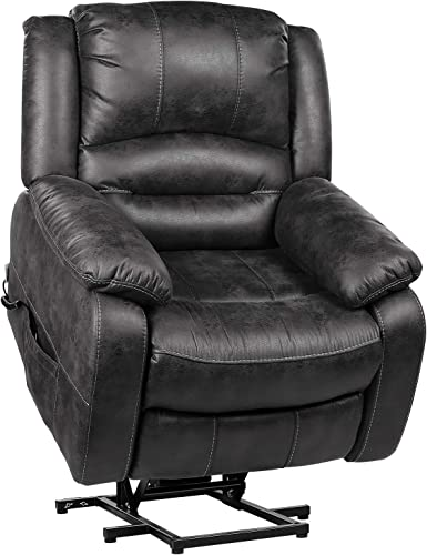 Cheap POMOHOME Electric Power Lift Recliner Chair Sofa living room chair for sale