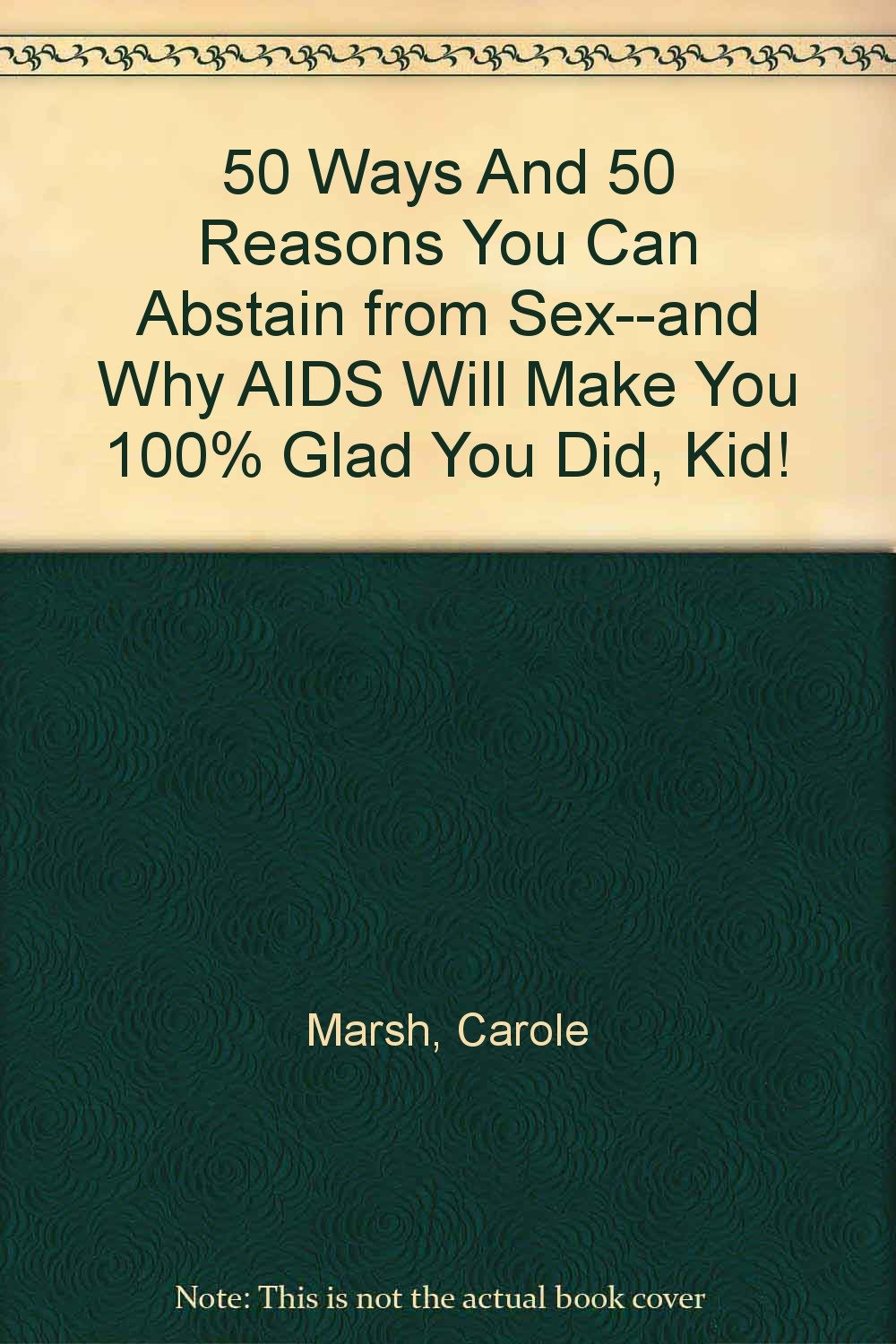 Reasons to abstain from sex