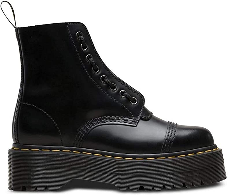 leather boots women's Dr. Martens