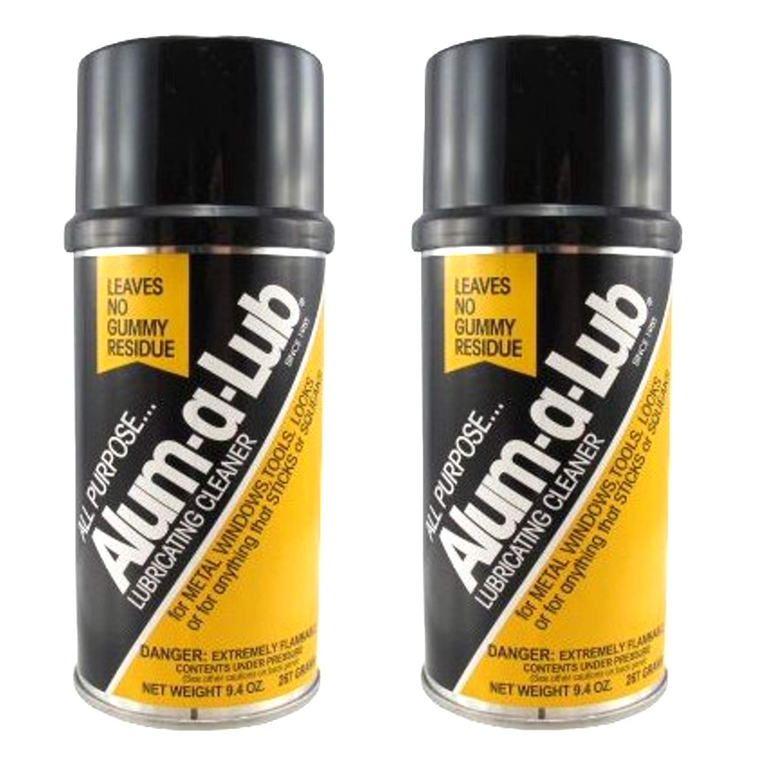 Alum-A-Lub Lubricating Cleaner Spray 9.4 oz. (Pack of 2)