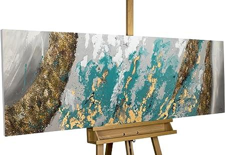 Kunstloft Peinture Acrylique Sur Toile Glacial Shore