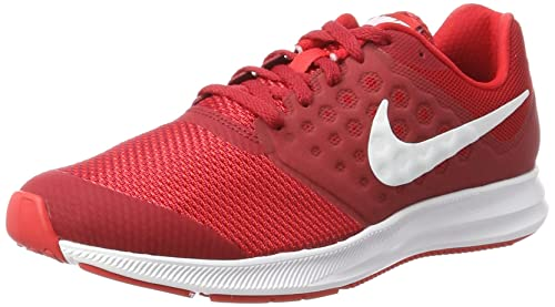 finest selection 34455 6813d Nike Downshifter 7 GS Scarpe da Corsa Adulto, Rosso (Univ White/Tough Red