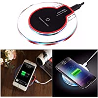 Classico Fast Wireless Charger for iPhone XR,XS Max,X,Samsung Galaxy Note 9,8 S9 S8 Plus,All Qi-Enabled Smartphones (for Fast Charging Use only Certified 1-2Amp Charging Dock/Adapter)
