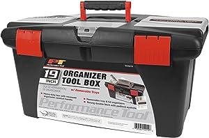 Performance Tool W54019 19-Inch Plastic Tool Box