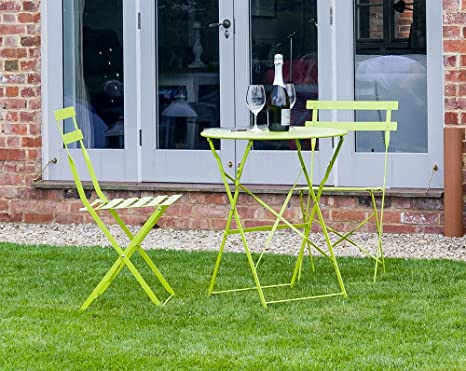 Sue Ryder - Juego de sillas plegables de metal para jardín ...