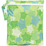 Bumkins Zippered Wet Bag, Turtles