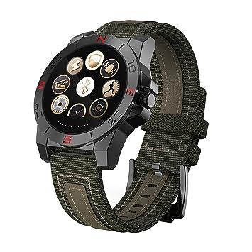 Smartwatch Fossil Mujer Hombre Trabajando Con 72 Horas, 7 Días En Espera Reloj Del Teléfono En Deportes Y Air Libre NJFEEE10 Reloj Inteligente Deportes Y ...