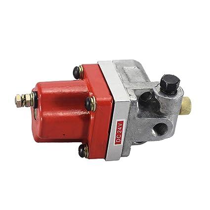 CUMMINS 24V Fuel Shutoff Solenoid Valve 3054609