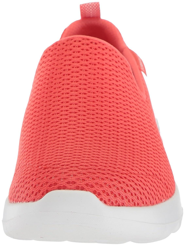 Skechers Damen Go Walk Joy Slip On Sneaker Coral