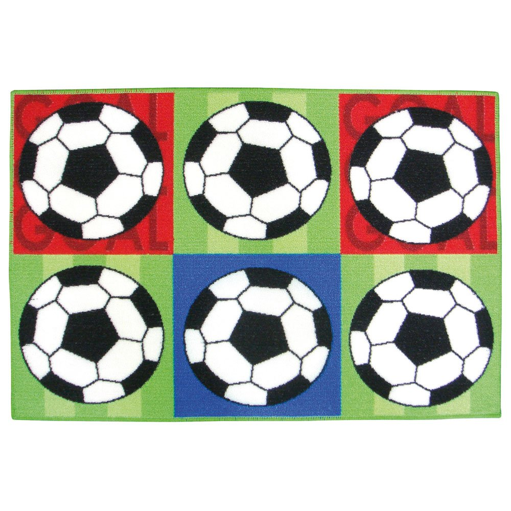 Alfombra de balón de fútbol/alfombrilla para niños - alfombra de ...