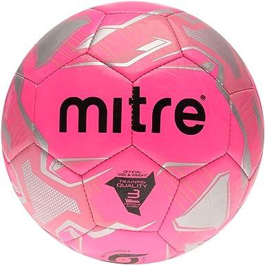 Mitre Impel Balon Futbol Rosa Talla 5: Amazon.es: Ropa y accesorios