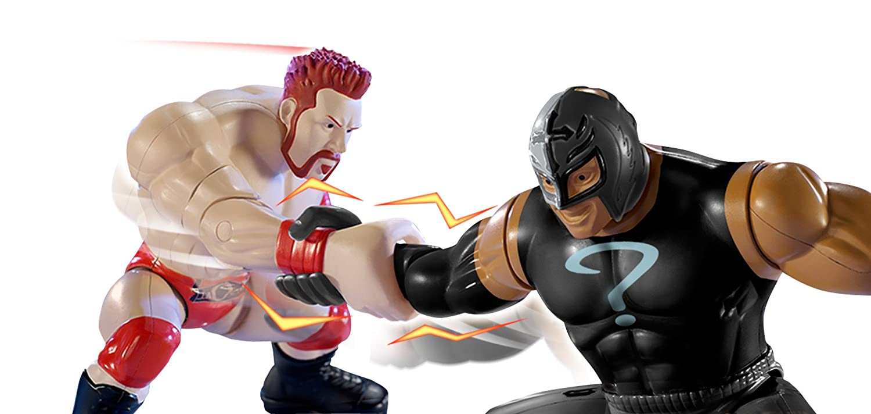 WWE Power Slammers Sheamus and Rey Mysterio Figure Starter Pack Mattel Y7074