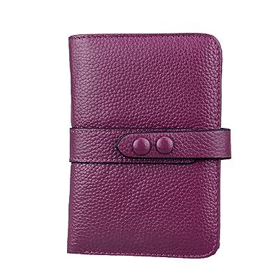 88a4d3335679 Amazon | Wraifa レディース 財布 二つ折り 本革 大容量 多機能 RFID磁気 ...