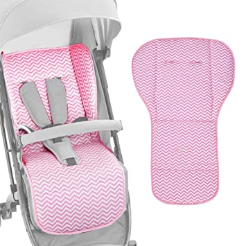 Amazon.com: Big-time Baby Stroller Liner/Cushion/Seat Pad for Infant Stroller,Pure Cotton,Easy Universal Fit,Suitable for Four Seasons,Warm Cushion ...