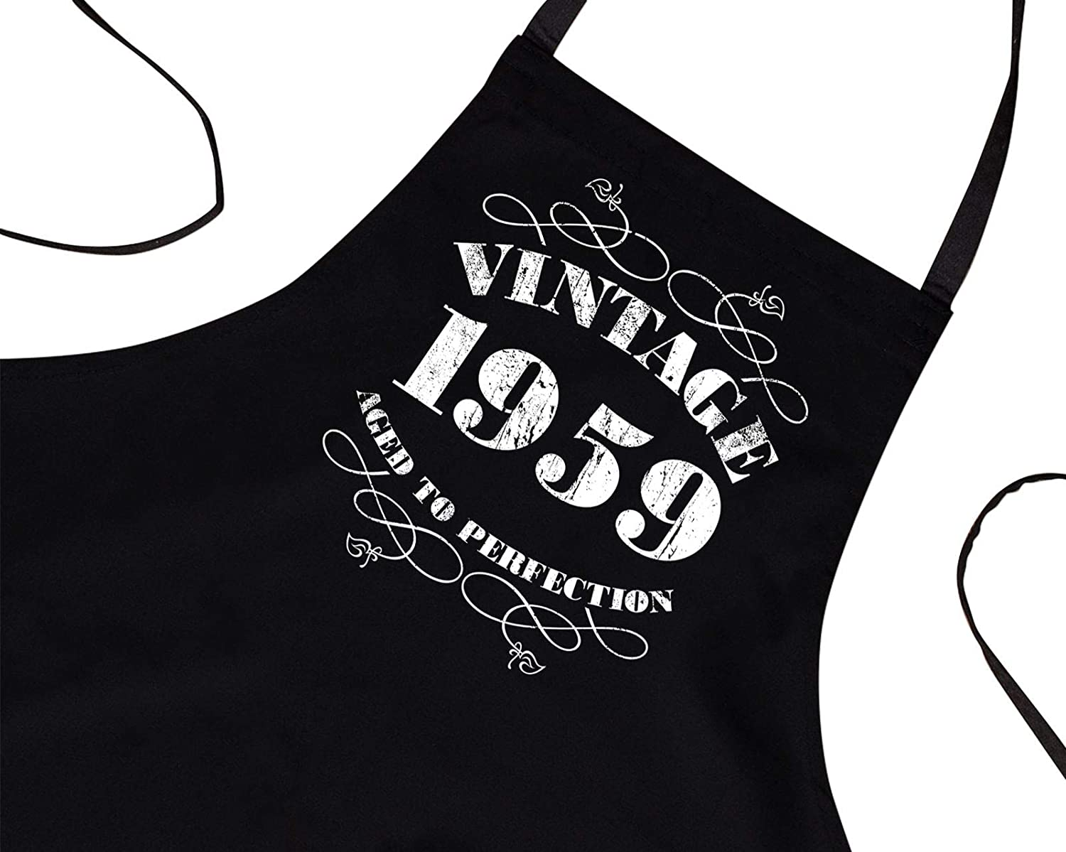 60th Birthday Gifts for Men Him Dad Husband BBQ Cooking Apron Vintage 1959 Bang Tidy Clothing RA472