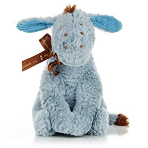Disney Baby Classic Eeyore Stuffed Animal Plush Toy, 9 inches