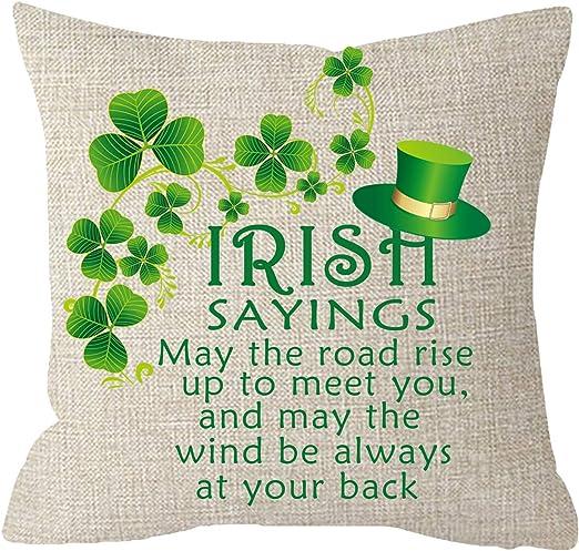 Cushion St Patricks Day Irish Gift Keep Calm And Irish On