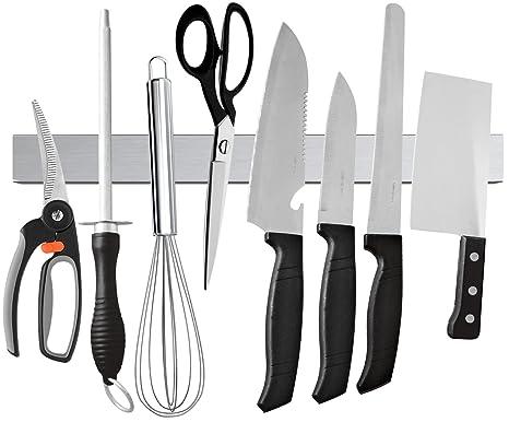 Amazon.com: Soporte magnético para cuchillos Ouddy ...