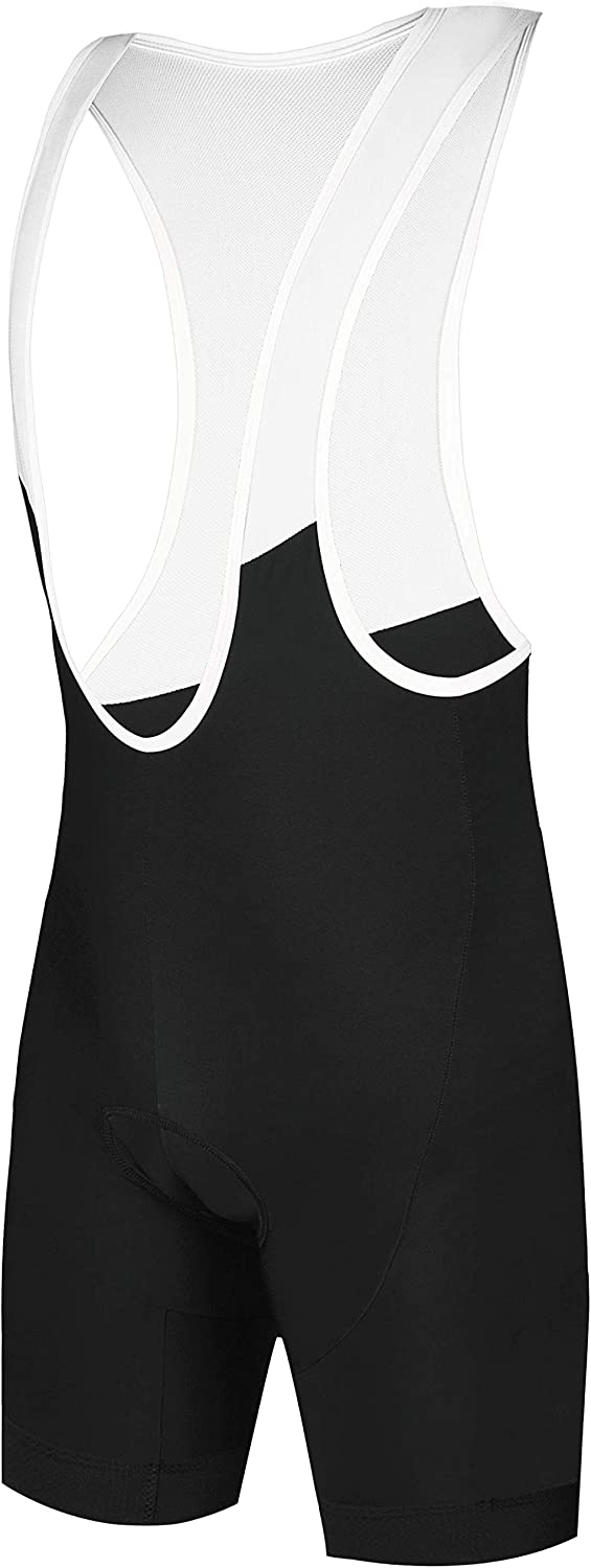 CEROTIPOLAR Men LongInseam Cycling Bibs Padded, Bike Bibs Shorts UPF50+,Team Custom Available