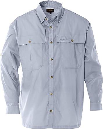 SNOWBEE Solaris Long-Sleeved Camisa de Viaje, Hombre ...