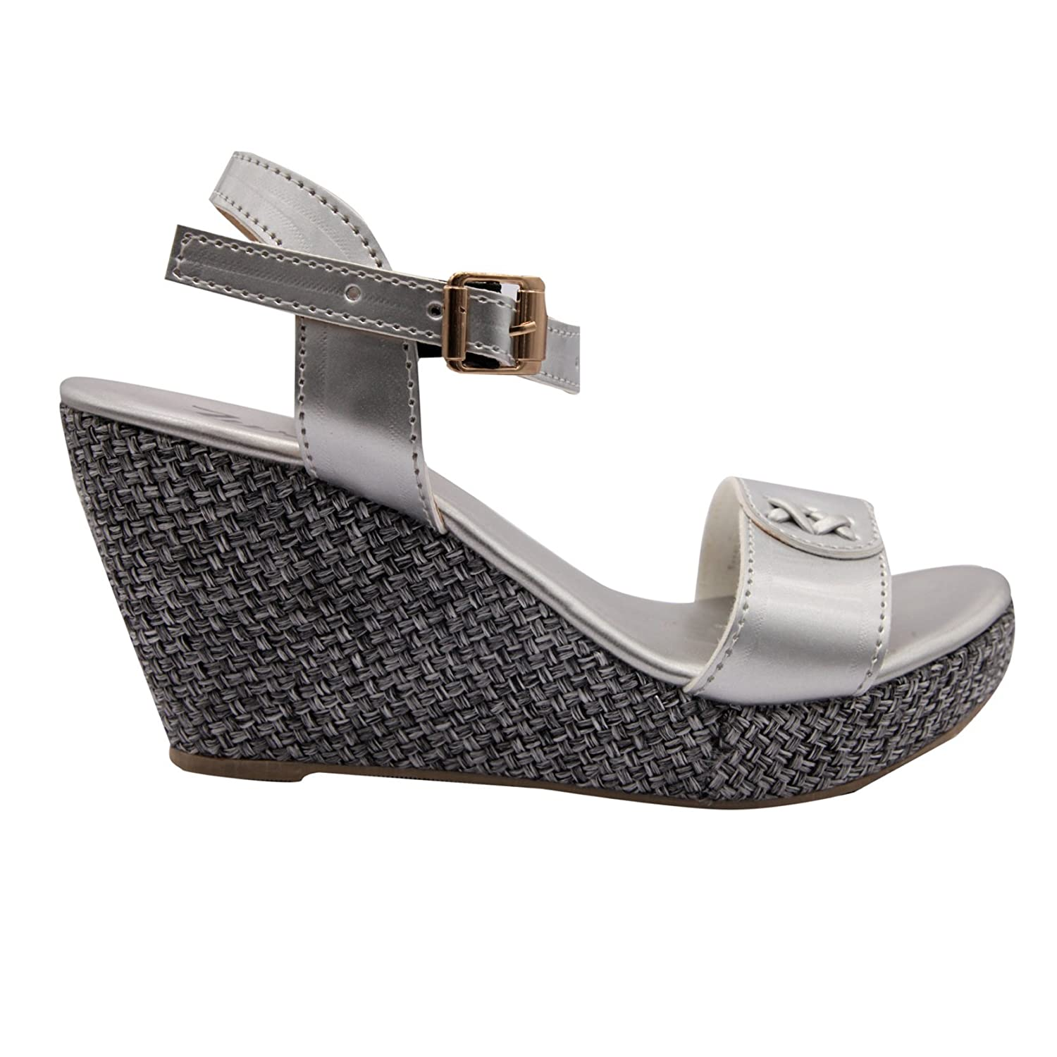 0228f27ff99f Lush Silver Women s Fashion Heels for Women