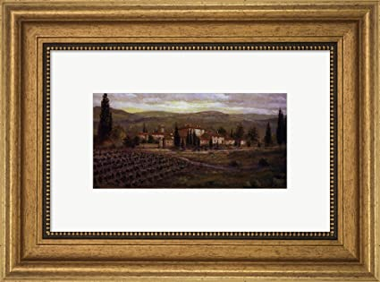 Amazon.com: Uzzano by Joe Sambataro Framed Art Print Wall Picture ...