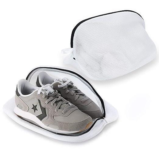 Yizhet 2 Bolsas Premium de Malla de Lavandería para Zapatos ...