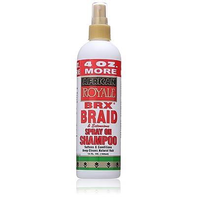 African Royale Brx Braid Spray On Shampoo, 12 Ounce