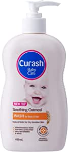 Curash Soothing Oatmeal Baby Wash 400ML