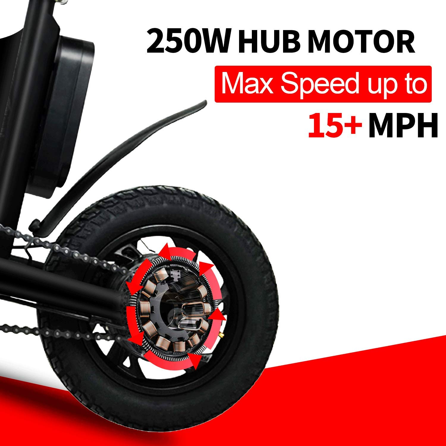 Amazon.com: Hiboy P10 Folding Electric Bike for Adults ...