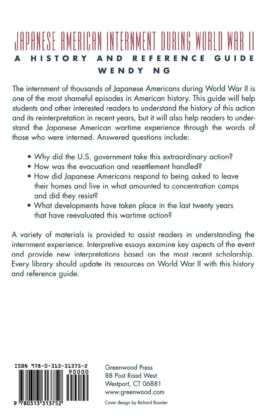 Essays On Science And Technology Japanese American Internment During World War Ii A History And Reference  Guide Wendy Ng  Amazoncom Books Narrative Essay Topics For High School also Persuasive Essay Examples For High School Japanese American Internment During World War Ii A History And  How To Start A Synthesis Essay