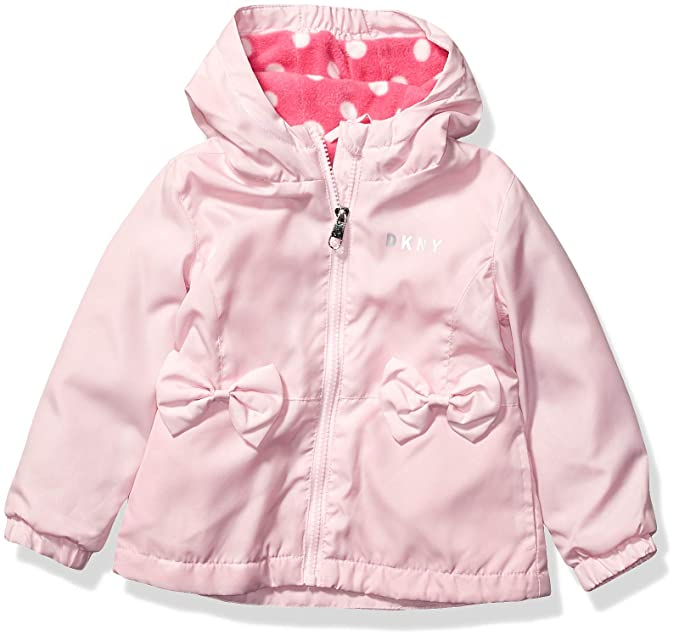 Amazon.com: DKNY - Chaqueta de peso medio para niña: Clothing