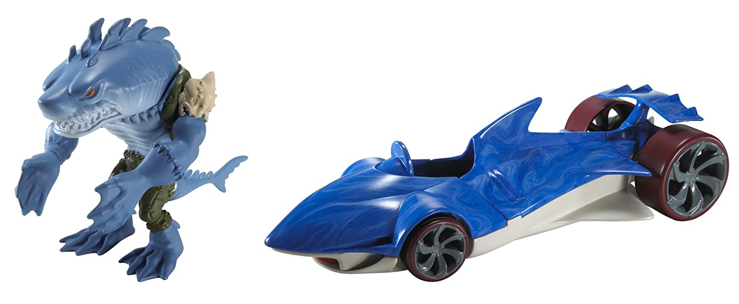 Hot Wheels Battle Force 5 Water Slaughter Vehicle And Sever Figure Toys Games