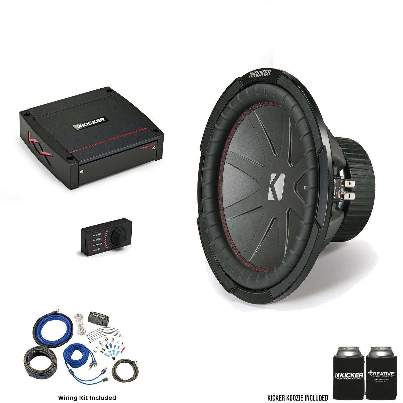 "Amazon.com: Kicker 43CWR124 12"" CompR Subwoofer with 44KXA4001 KX ..."