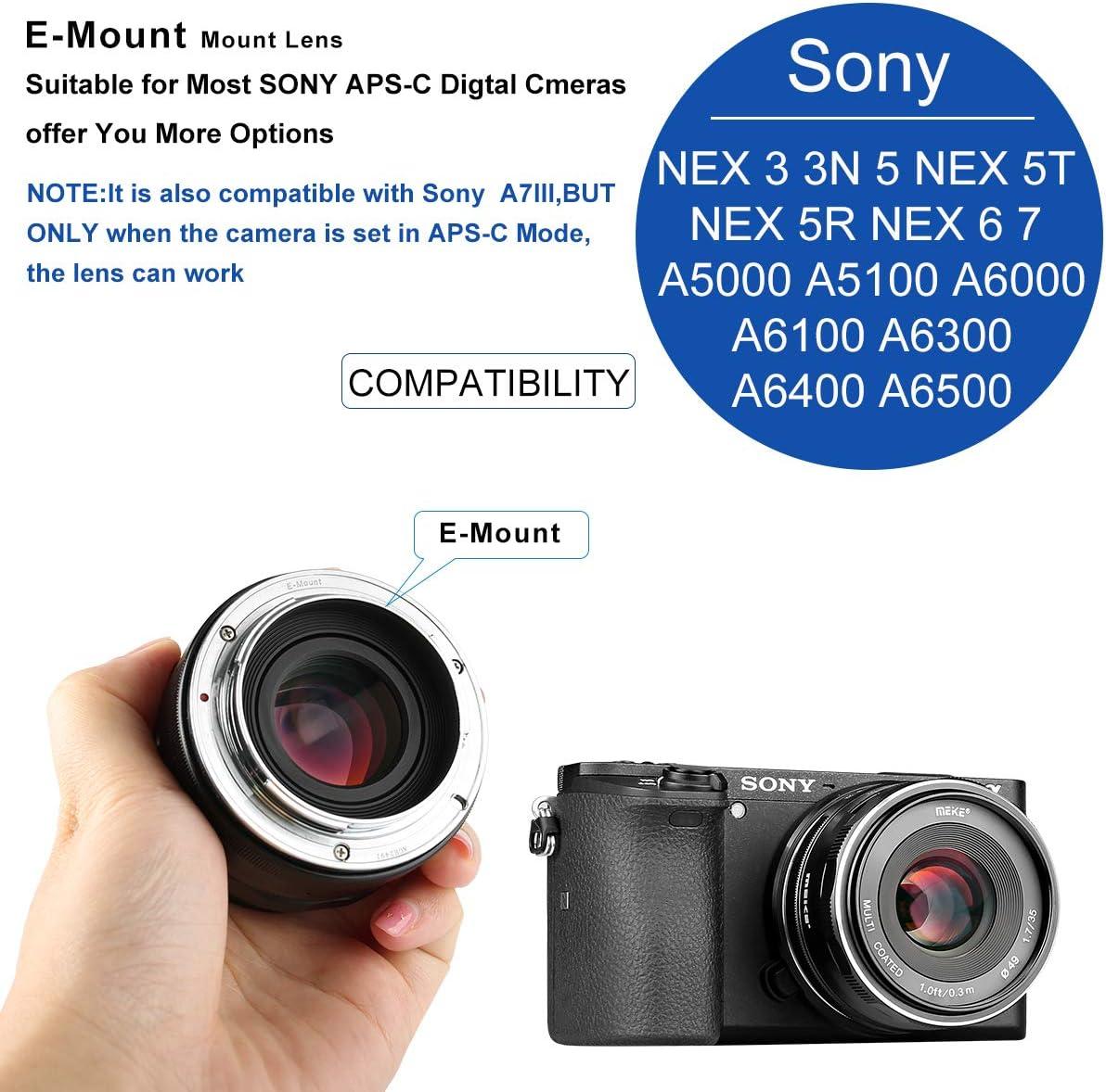 Meike MK 35mm f 1.7 Large Aperture Manual Focus Lens APS-C for Fujifilm X-Mount Mirrorless Camera