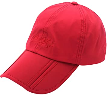 Outfly Gorro de Verano para Hombre Ligero Gorra de Golf para Mujer Hombre Gorro Seca Rápido Gorro Deportivo Running Cap Sombrero - Rojo: Amazon.es: Deportes ...
