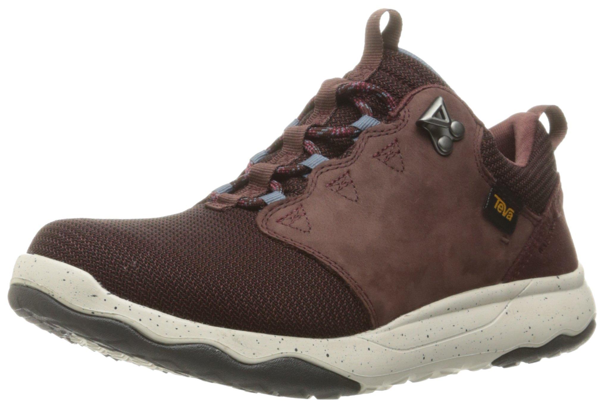 Teva Women's W Arrowood Waterproof Hiking Shoe, Mahogany, 11 M US