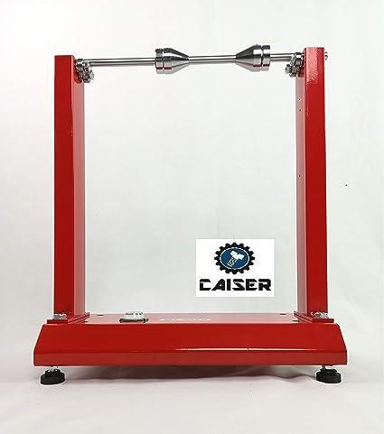 CAISER EQUILIBRADORA Manual DE Ruedas NEUM/ÁTICOS DE Moto