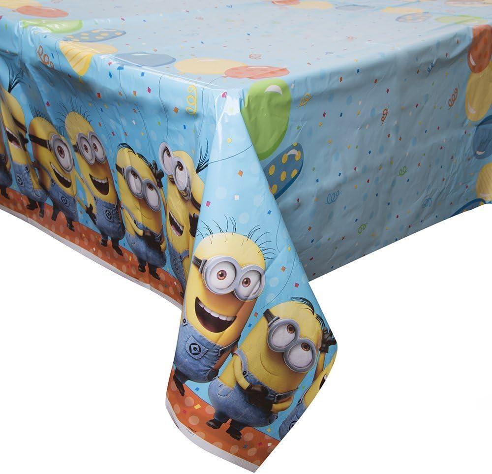 Unique Childrens Party Supplies Party Dinner Kit Despicable Me Minion Plates and Napkins Unique Industries Inc