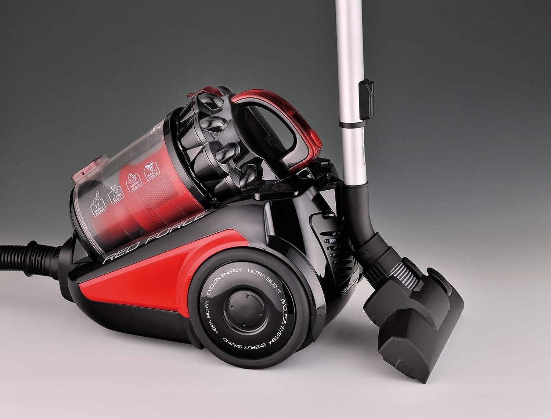 Ariete 2739.0 Aspirapolvere Senza Sacco 79 Decibel Nero//Rosso Plastica 700 W