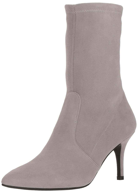 Stuart Weitzman Women's Cling Ankle Boot B078Y9CKF9 6.5 B(M) US|Gris Suede