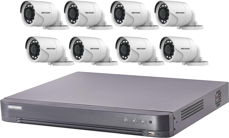 KKmoon 16CH 1080P AHD TVI CVI DVR 16stk 720P Wasserdicht IR CCTV Kamera Kit L6Z7