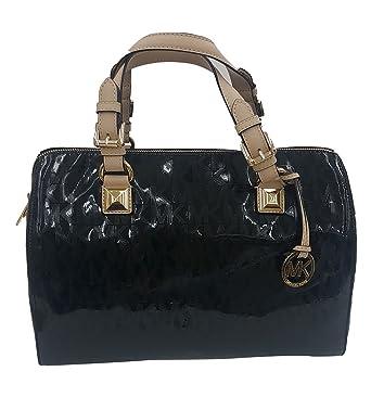 4164748e71df5c Michael Kors Grayson Large Black (#35F6GGYS3Z): Handbags: Amazon.com